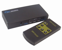 3 Weg HDMI Switch incl. Afstands bediening