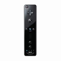 Wiimote met ingebouwde Motion plus Zwart
