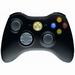 Wireless Xbox 360 Controller Zwart